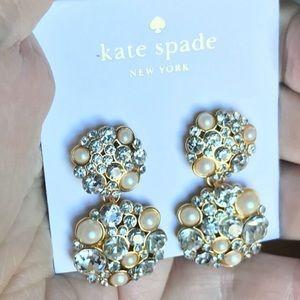 Kate Spade Bridal Statement Earrings